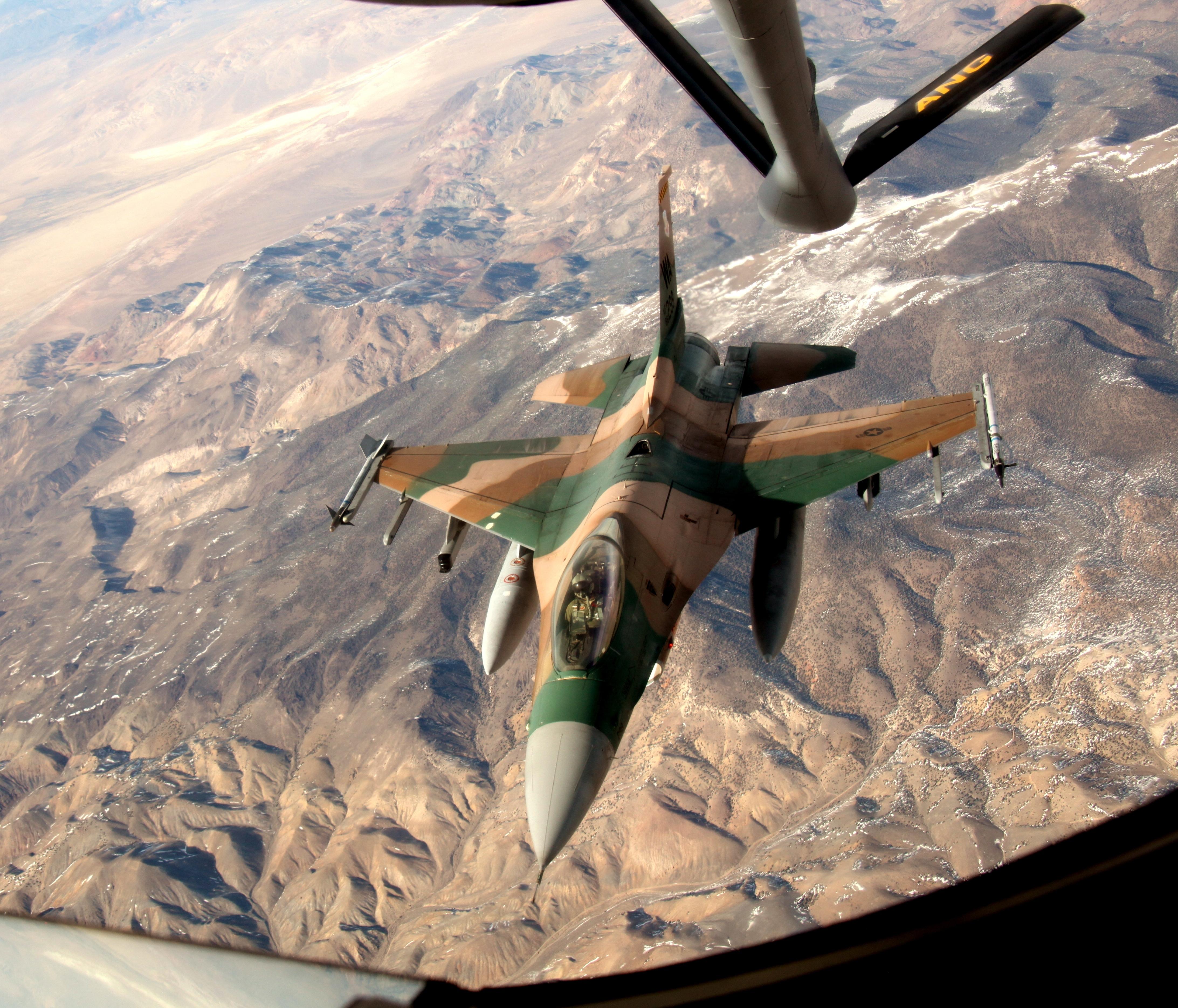 64th AGRS F-16C